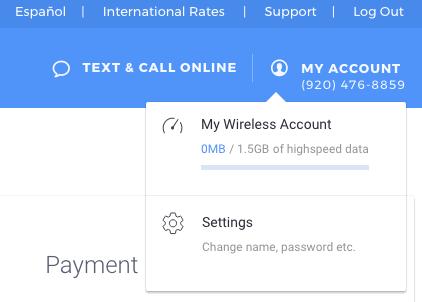 Change Your Password – TextNow Support