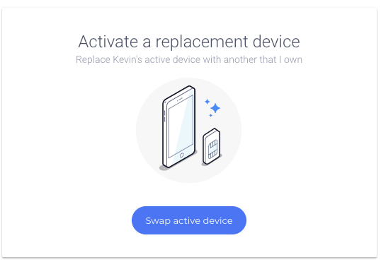 Swap Devices On Your Account – TextNow Support