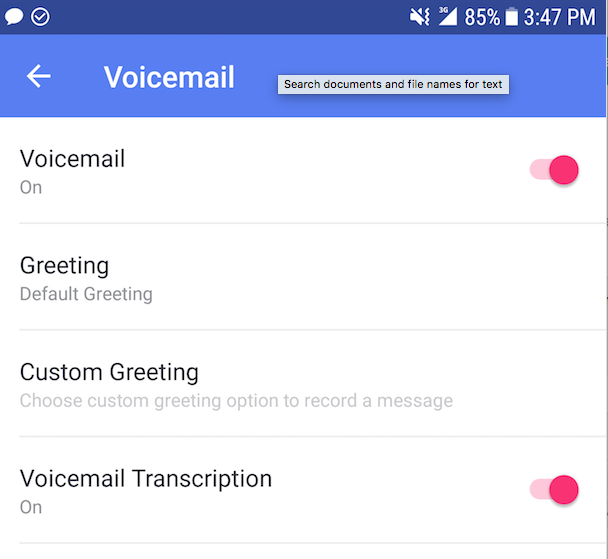 Android and ios setup voicemail textnow support screenshot2018 04 30at33138pmg m4hsunfo